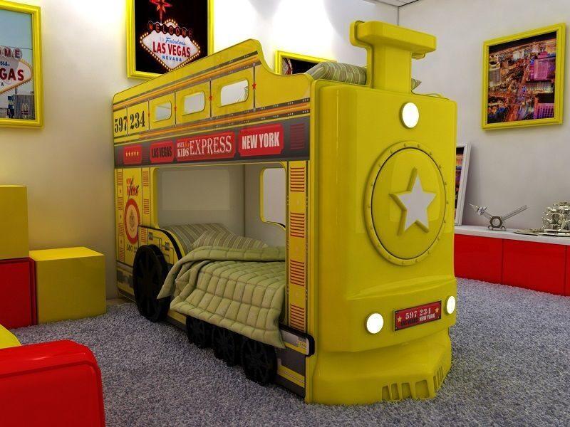 Кровать паровоз